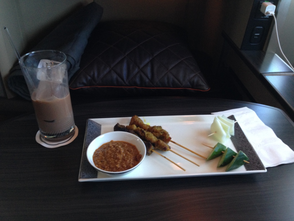Singapore Airlines Satay