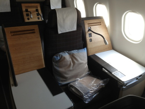 Swiss Business Class with Aeroplan