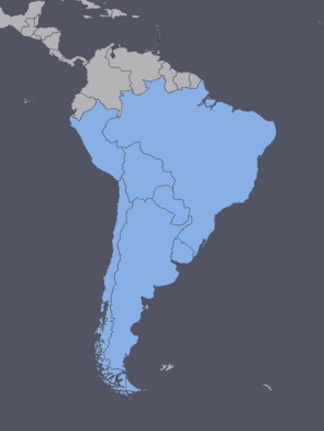Aeroplan Flight Redemptions - Southern South America
