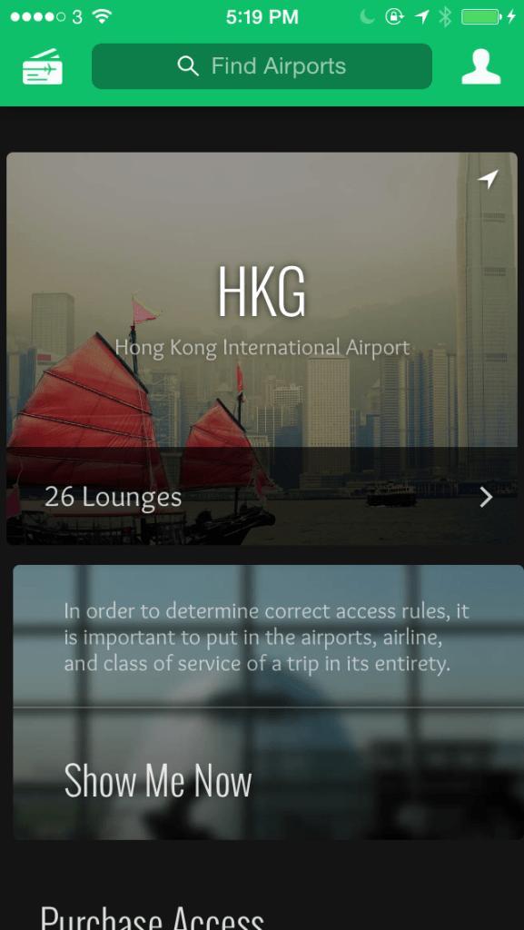 Loungebuddy App Interface