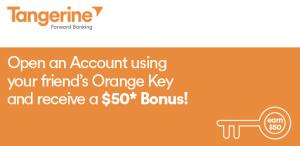 Tangerine Orange Key