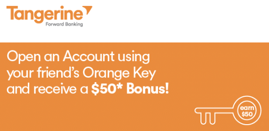 Tangerine Orange Key