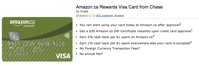 Chase Amazon Visa