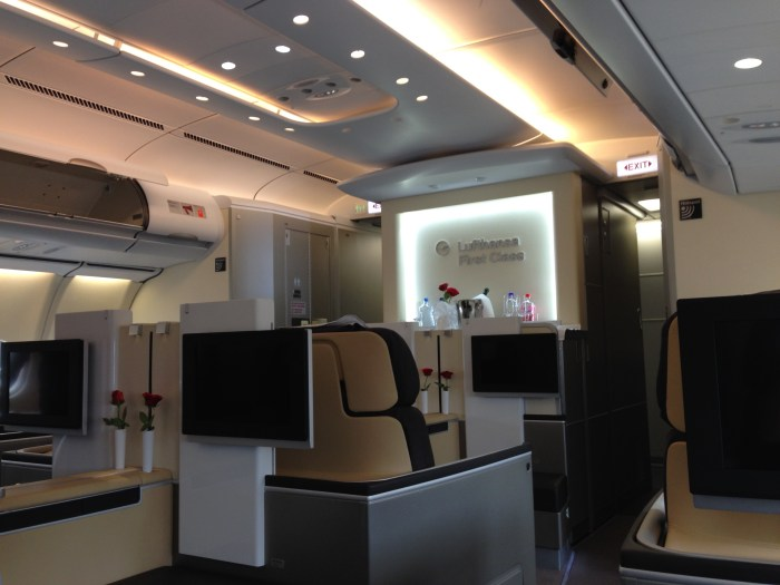 Redeem for Lufthansa First Class with Aeroplan!