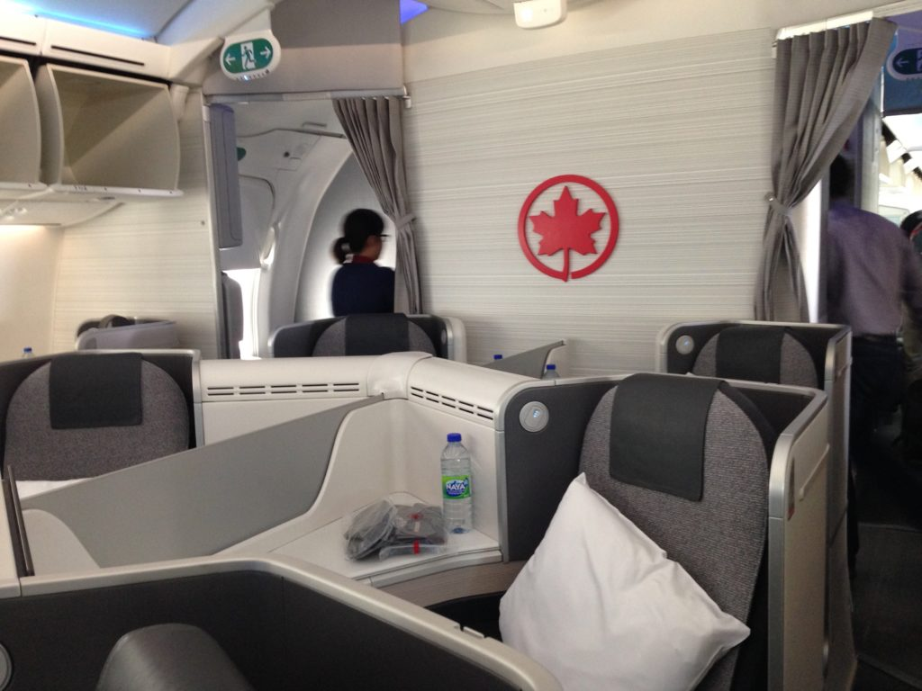 Air Canada 787 International Business Class