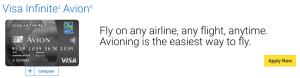 RBC Avion Visa Infinite: 15,000 Points