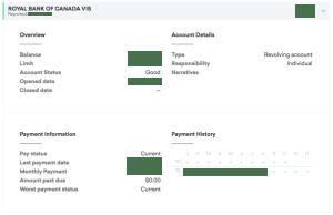 Credit Karma - Account Detail