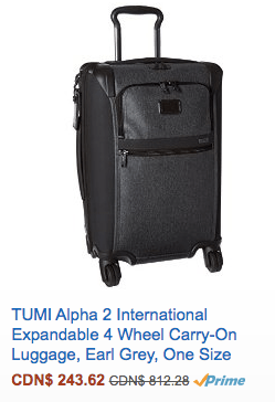 Tumi Alpha 2 international Carry-On