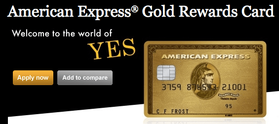 AMEX Gold Rewards Card