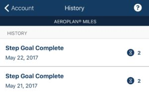 Carrot Rewards - Prevent Aeroplan Expiry