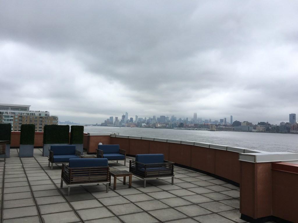 Hyatt Regency Jersey City Review - Patio