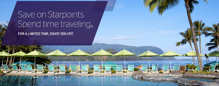 Buy Starwood Points: 35% Discount