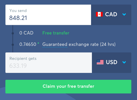 Canadian forex money transfer review