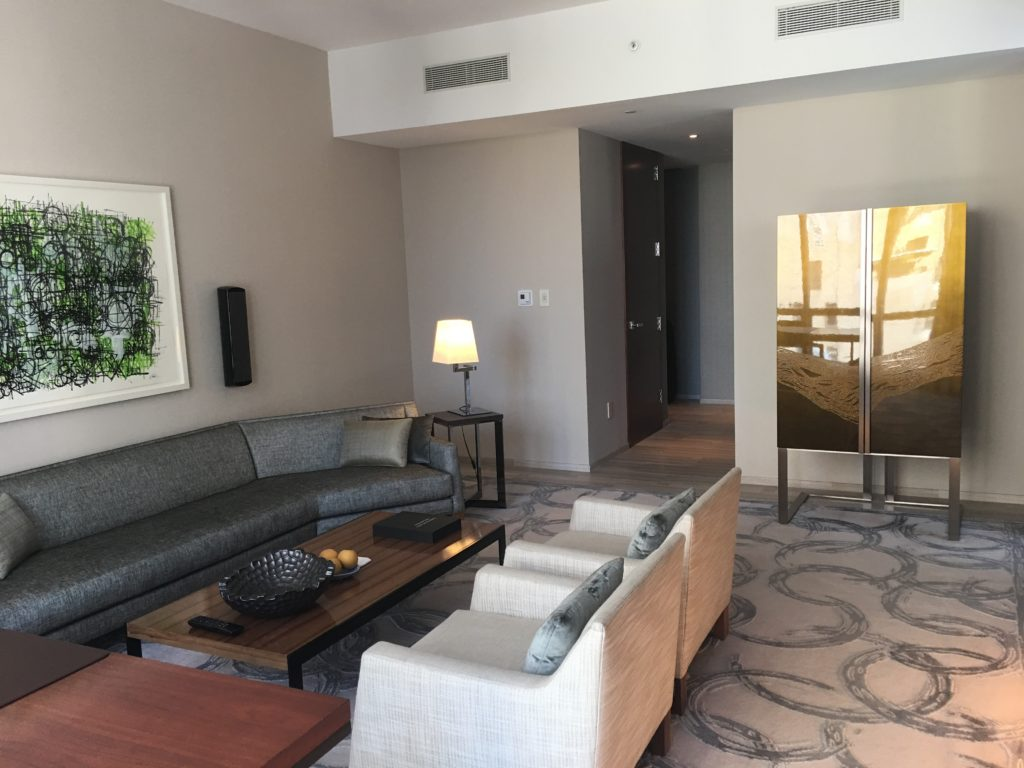 West Side Suite - Living Area