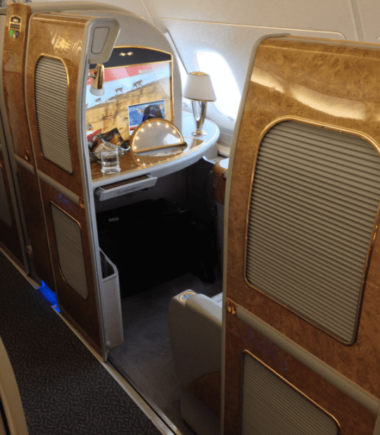 Transfer SPG for Emirates First Class