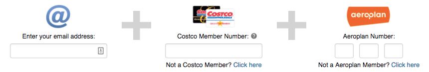 Aeroplan Costco - Register to Earn