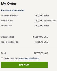 Buy Alaska Miles - 50% Bonus
