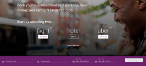 Upside Travel Review - Booking