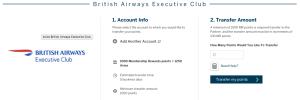 BA 30% Avios Transfer Bonus
