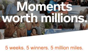 Aeroplan Moments worth Millions Contest