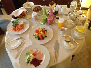 Park Hyatt Zurich Room Service Breakfast