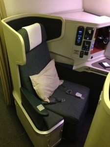 Cathay Pacific Business Class