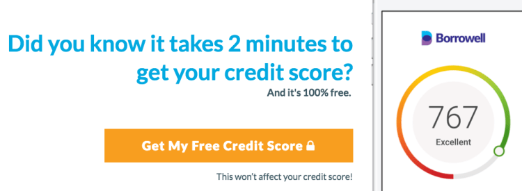 Credit Score Canada Free - Borrowell