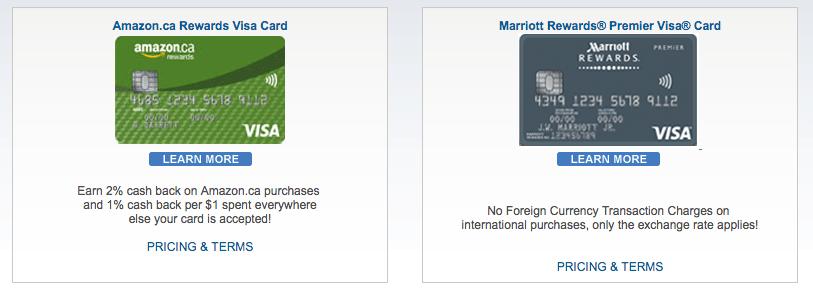 Amazon.ca credit card login chase