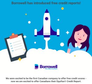 Borrowell Free Equifax Credit Report