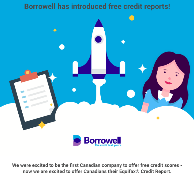Free Equifax Credit Report from Borrowell!