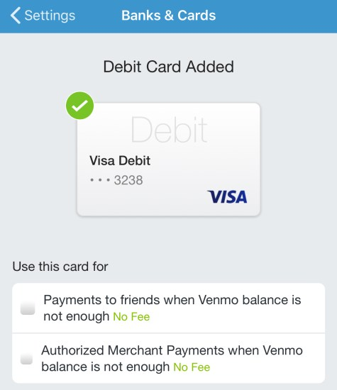 CIBC AC Conversion Card - Venmo