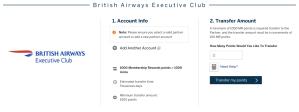 Transfer to Avios
