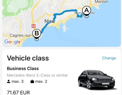 Blacklane - Booking Process