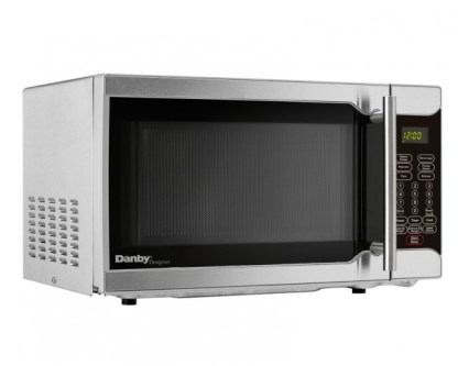 Danby Designer 0.7 cu.ft. Microwave - Stainless Steel