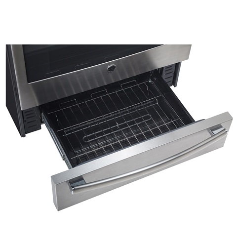 """GE 7.2 cu. Ft. 30"""" Free Standing Electric Self-Clean Convection Range"""
