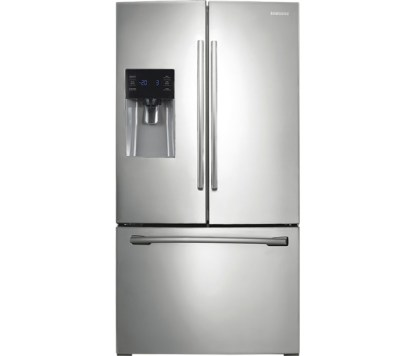 RF263BEAESR Samsung - 24.6 Cu. Ft. French Door Refrigerator with In Door Ice and Water - Stainless Steel
