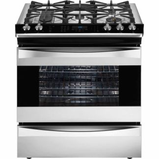 KM Elite 30″ Dual-Fuel Range Slide-in Convection – Stainless
