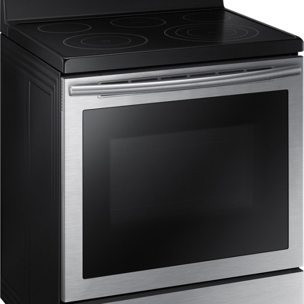 """NE59J7630SS Samsung 30"""" True Convection / Self-Clean Electric Range - Stainless Steel"""