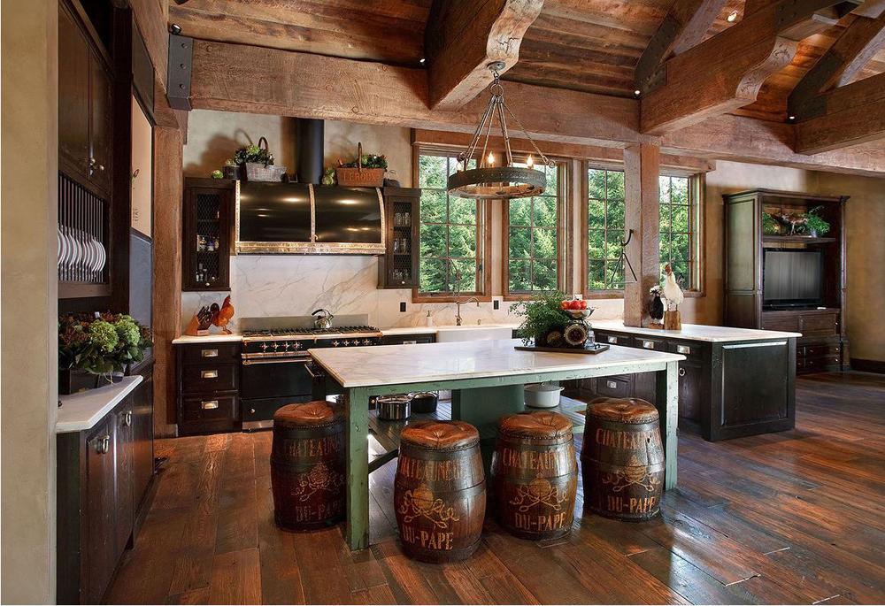Cabin Decor,Rustic Interiors And Log Cabin Decorating Ideas