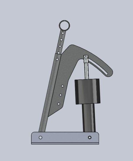 rudder pedal compressed