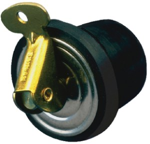 BAITWELL PLUG 3/8IN--2/CARD