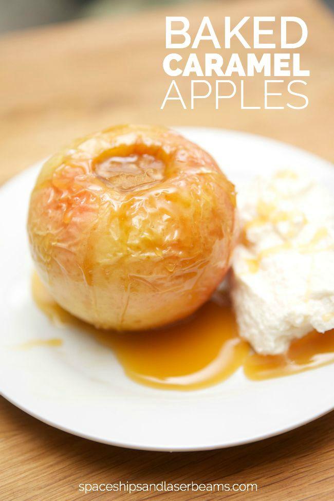 Baked Caramel Apples - 20 Delicious Apple Dessert Recipes