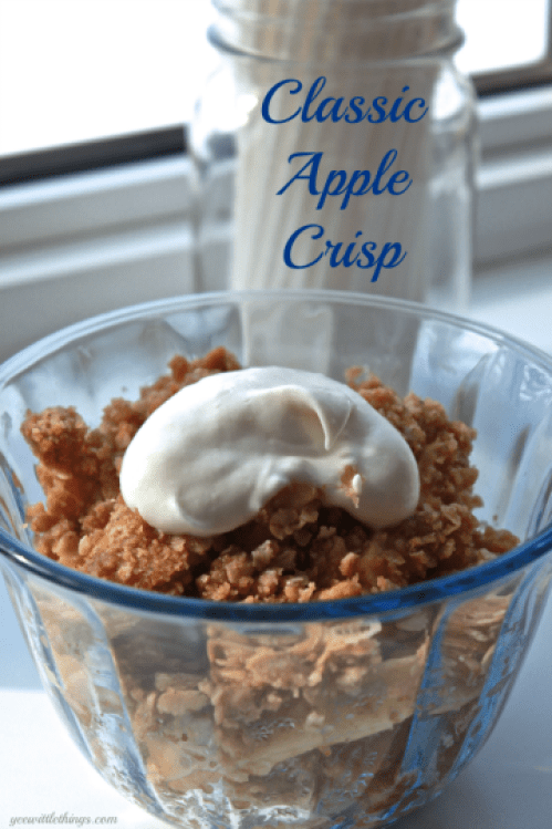 Classic Apple Crisp - 20 Delectable Apple Dessert Recipes