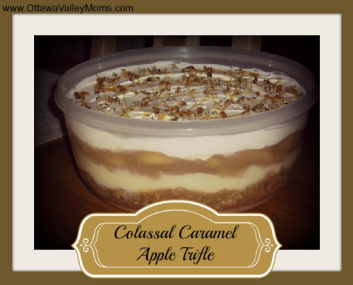 Colossal Caramel Apple Triffle - 20 Delectable Apple Dessert Recipes