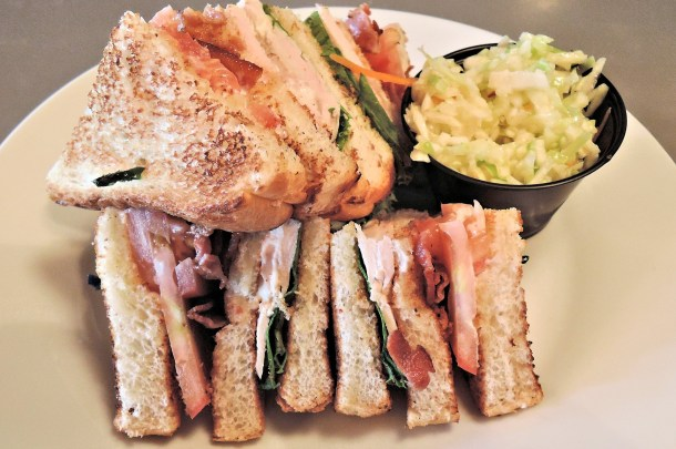 Turkey Clubhouse Sandwich