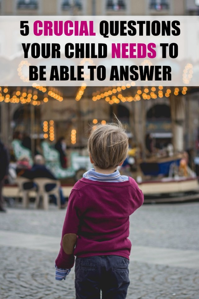 Can your kids answer these?