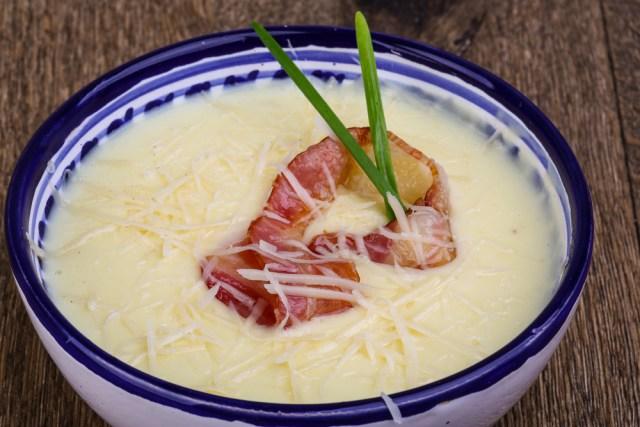 Creamy Cauliflower Crab Soup