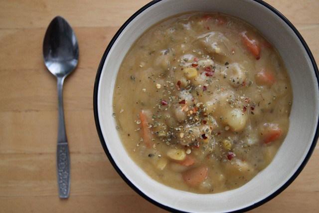 White Bean Corn Soup