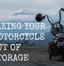 Taking your Motorcycle out of Storage