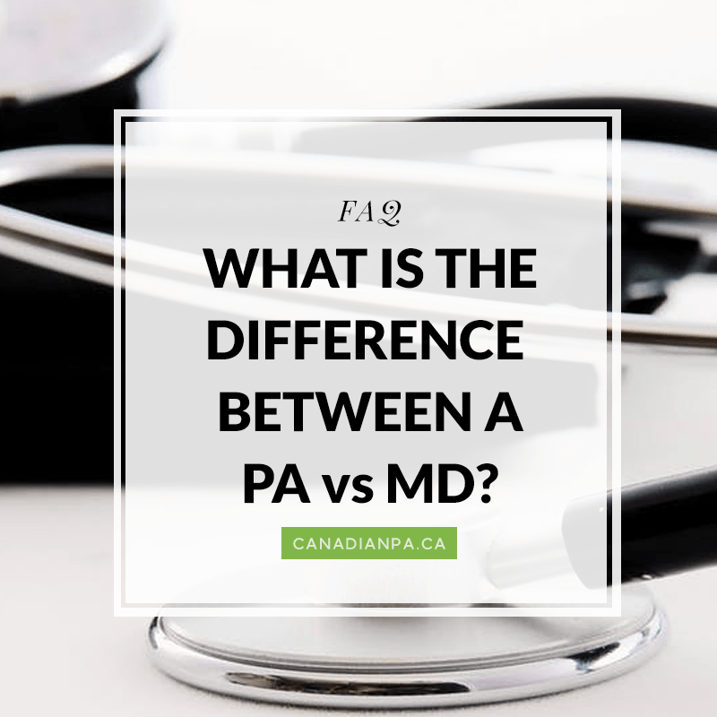 Physician Assistant vs MD